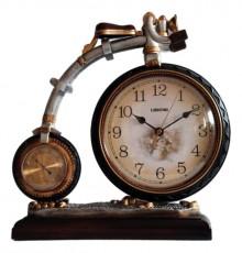 Настольные часы (34х35 см) Велосипед ОМТ 1401