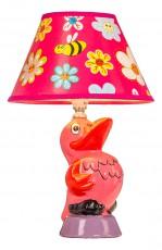 Настольная лампа декоративная D1-62 Pink