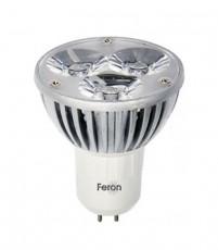 Лампа светодиодная GU5.3 230В 3Вт 4000K LB-112 25189