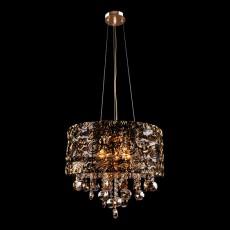 Подвесной светильник 3400/5 золото/тонированный хрусталь Strotskis