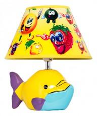 Настольная лампа декоративная D1-20 Yellow