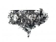 Потолочная люстра 9008/6PL Black