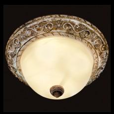 Накладной светильник 7172/3 коричневый/белый