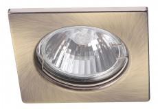 Комплект из 3 встраиваемых светильников Quadratisch A2210PL-3AB