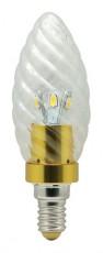 Лампа светодиодная LB-77 E14 220В 3.5Вт 6400 K 25346