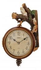 Настенные часы (29.5х42 см) Двусторонние 8119