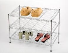 Стеллаж для обуви А 1211 хром