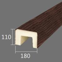 Архитектурный брус Cosca, 180x110x4000, красный сандал