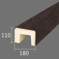 Архитектурный брус Cosca, 180x110x2000, темная секвойя