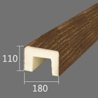 Архитектурный брус Cosca, 180x110x4000, южный дуб