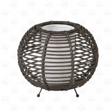 Настольная лампа декоративная Ротанг 19 376035101