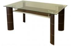 Стол обеденный 1654BR коричневый