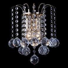 Накладной светильник 3299/2 золото/прозрачный хрусталь Strotskis