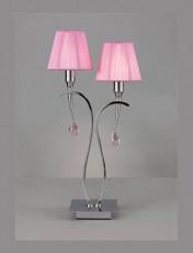 Настольная лампа декоративная Viena (Pantalla) 0350 ROZ