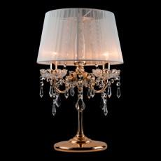 Настольная лампа декоративная 2045/3T золото/белый