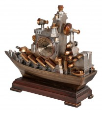 Настольные часы (38.5х32 см) Транспорт OMT 1403