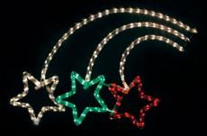 Панно световое (92х67 см) Фейерверк 26709