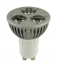 Лампа светодиодная GU10 220В 3Вт 8000K 357026
