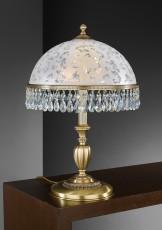 Настольная лампа декоративная 6200-GP