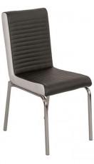 Набор стульев 1722 черный/белый (4 шт.)