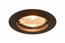 Комплект из 3 встраиваемых светильников Wood A5453PL-3BR