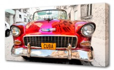 Панно (100х50 см) Кубинский транспорт BT G-1030H