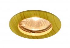 Комплект из 3 встраиваемых светильников Wood A5452PL-3BR