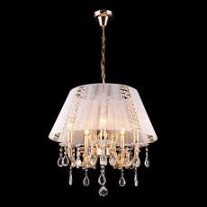 Подвесной светильник 3419/5 золото/белый Strotskis
