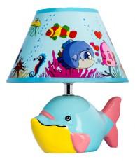 Настольная лампа декоративная D1-20 Blue