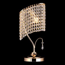 Настольная лампа декоративная 3122/1 золото Strotskis