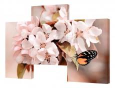 Набор из 3 панно (150х100 см) Цветы BT Y-2012H