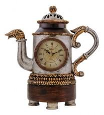 Настольные часы (28х29.5 см) Чайник 1367