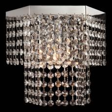 Накладной светильник 3100/1 хром/прозрачный хрусталь Strotskis