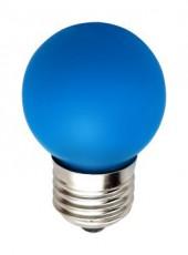 Лампа светодиодная LB-37 E27 220В 1Вт синий цвет 25118