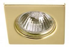 Комплект из 3 встраиваемых светильников Quadratisch A2210PL-3GO
