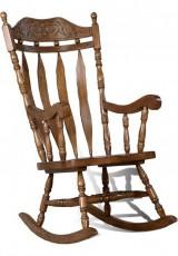 Кресло-качалка 4768Т дуб темный