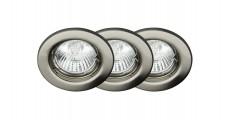 Комплект из 3 встраиваемых светильников Classic G94504/13