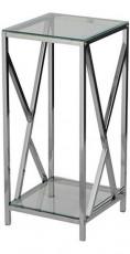 Подставка 1626 S стекло/металл