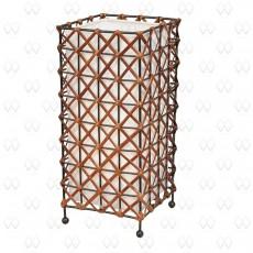Настольная лампа декоративная Ротанг 18 376031201