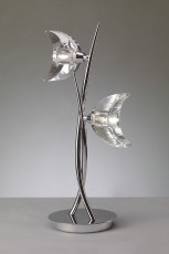 Настольная лампа декоративная Eclipse Chrome 1460