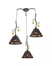 Подвесной светильник 1001/3S Brown
