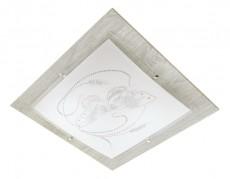 Накладной светильник 2962/3 хром/серый