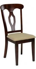Набор стульев 2565DC вишня темная (2 шт.)
