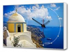 Настенные часы (60х37 см) Греция BL-2503