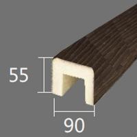 Архитектурный брус Cosca, 90x55x4000, африканский палисандр