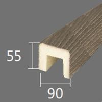 Архитектурный брус Cosca, 90x55x4000, оливковое дерево