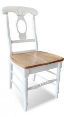 Набор стульев 4866 белый/бежевый (2 шт.)
