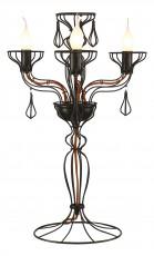 Настольная лампа декоративная Artefact A3225LT-3BK