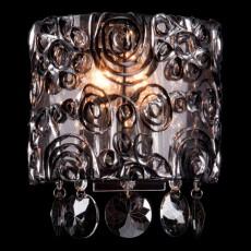 Накладной светильник 3400/2 хром/дымчатый хрусталь Strotskis