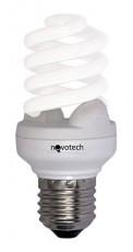 Лампа компактная люминесцентная E27 11Вт 4100K Slim 321011
